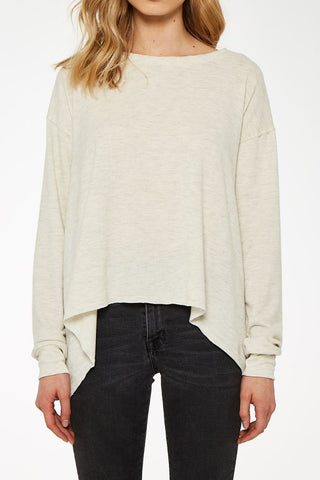 Cozy First Longsleeve Crew - Oatmeal