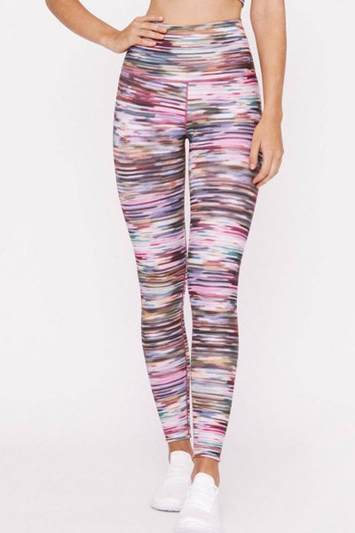 High Waist Reversible Legging - Melody