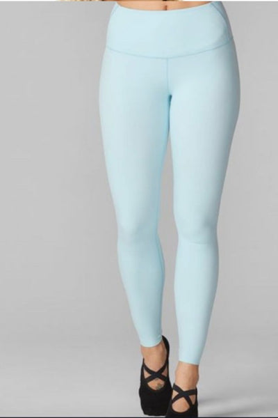 High Waist Legging- Powder