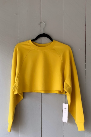Double Take Pullover - Sulphur