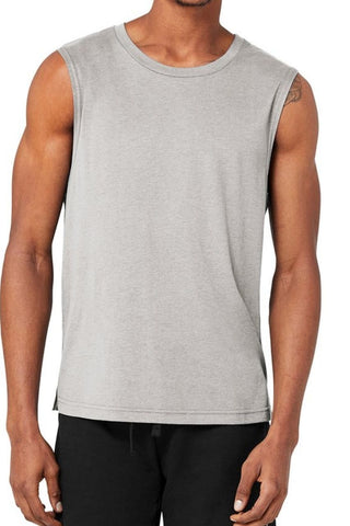 The Triumph Muscle Tank - Athletic Heather Grey