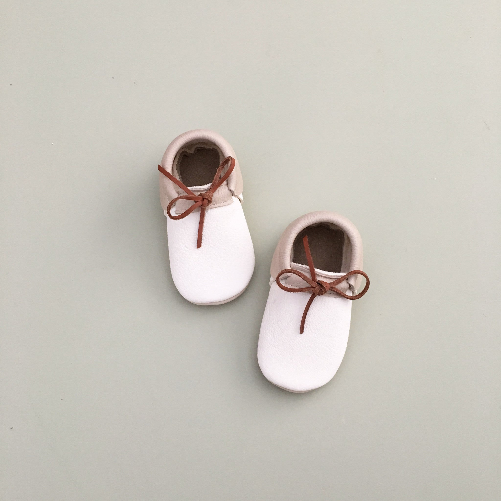 'Prep' Baby Moccasins