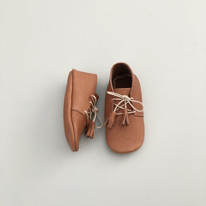 'Scout' Lace-Up Baby Moccasins