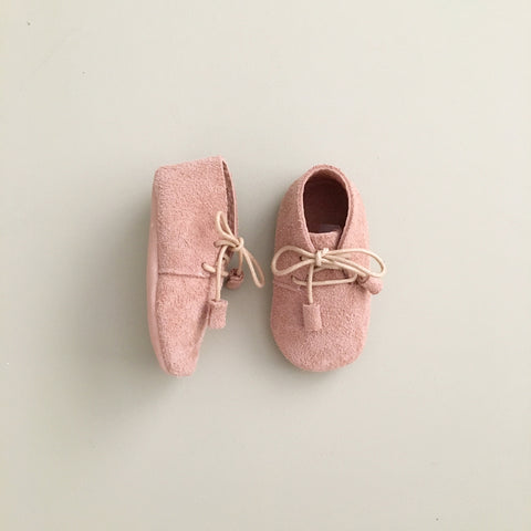 'Aura' Lace-Up Baby Moccasins