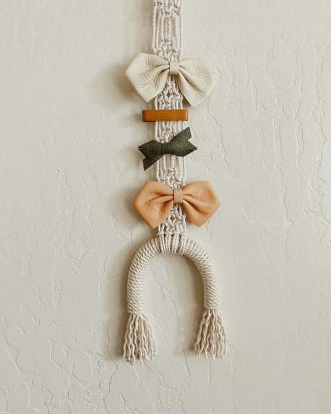 Lucky Rainbow Bow Hanger