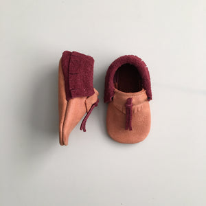 'Maple' Baby Moccasins
