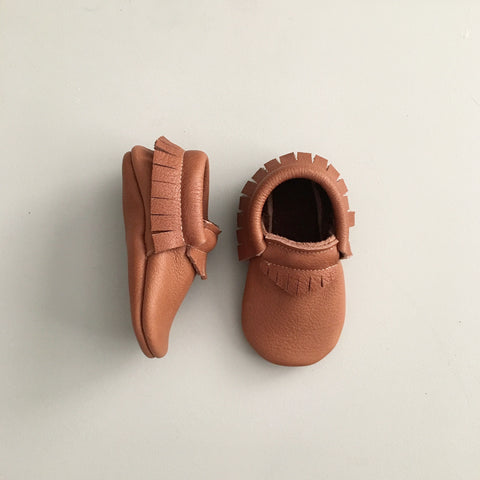 'Acorn' Baby Moccasins