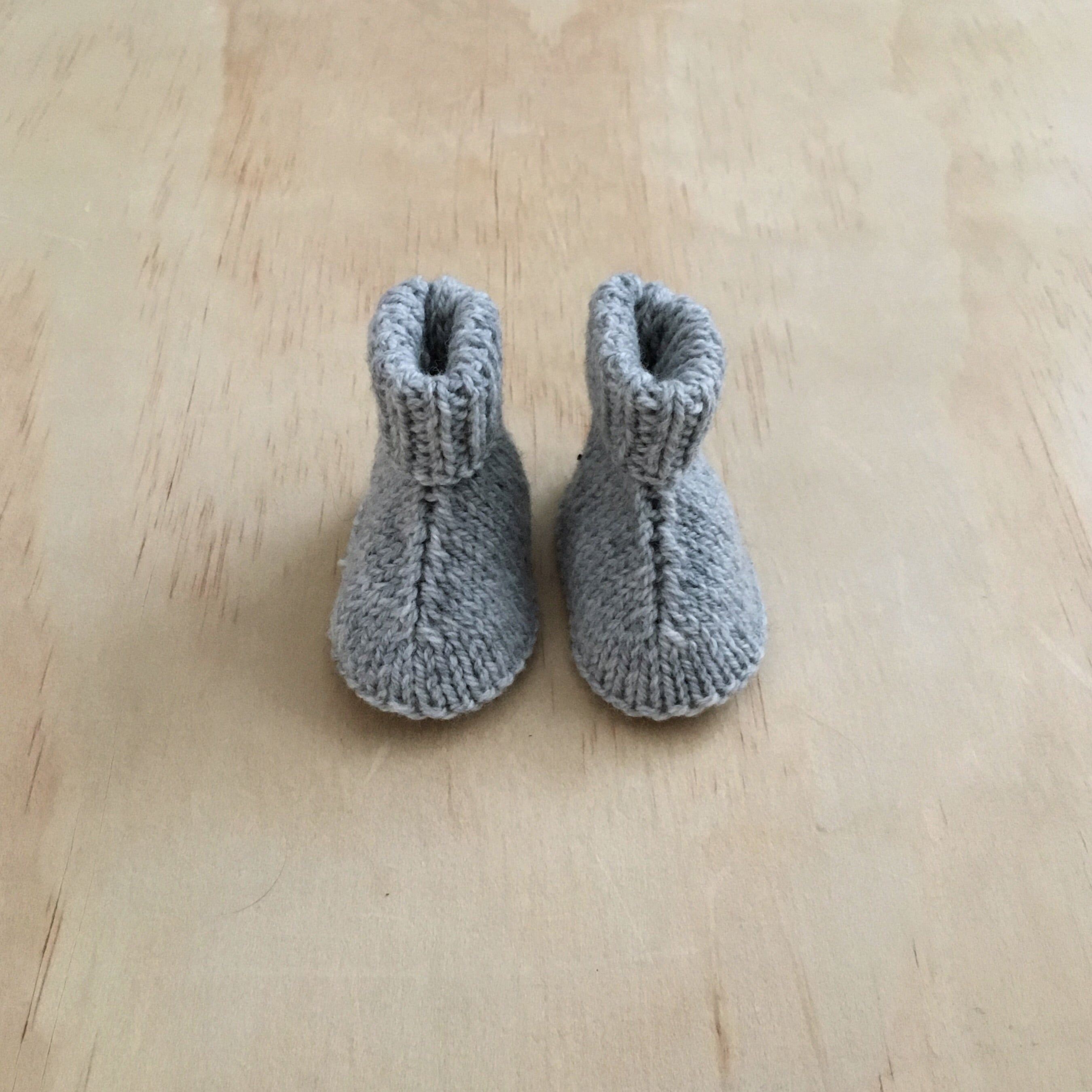 'Juneau' Knit Booties