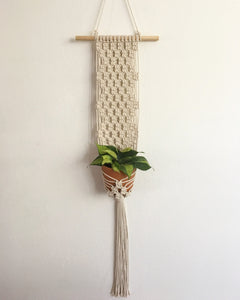 Macramé Wall Hanging Plant Set