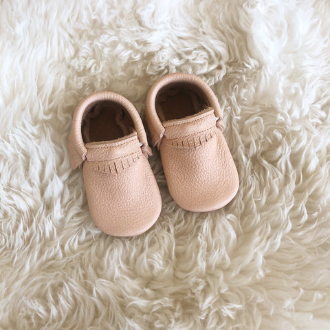 'Earth' Baby Moccasins