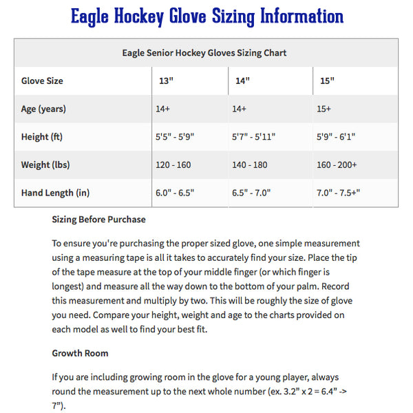 eagle-glove-sie-chart