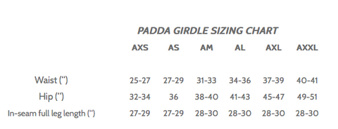 padda-girdle-sizing-chart