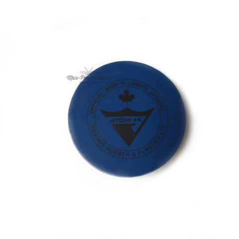blue-lightweight-hockey-puck