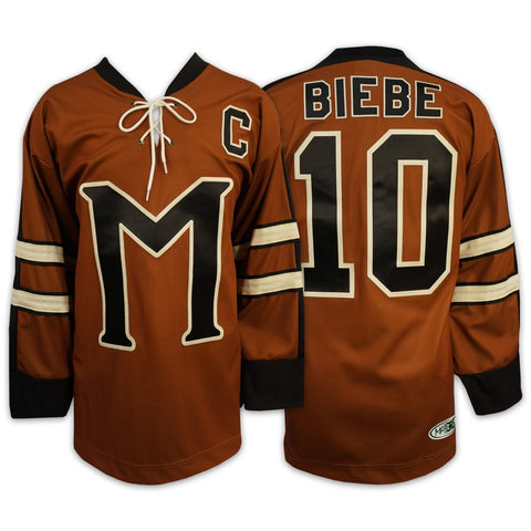 Mystery Alaska Biebe Hockey Movie Jersey