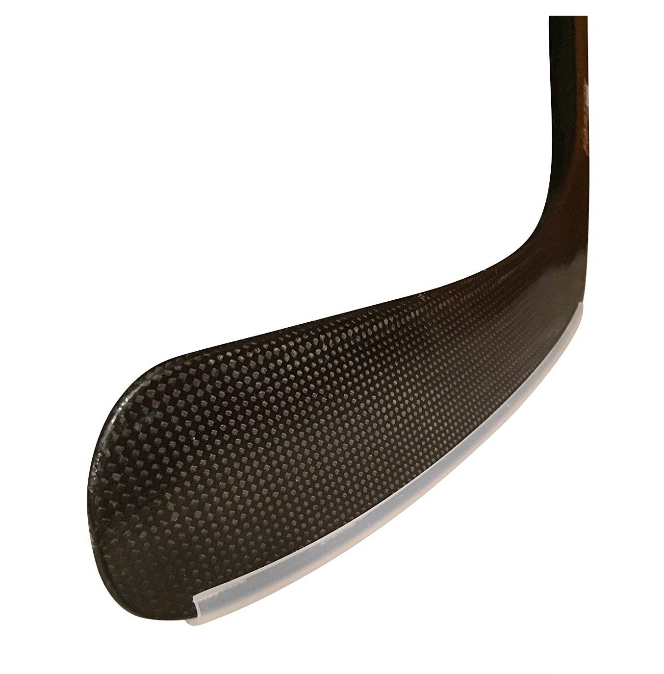 Protect bottom edge of ICE HOCKEY STICK BLADE from chipping and cracking
