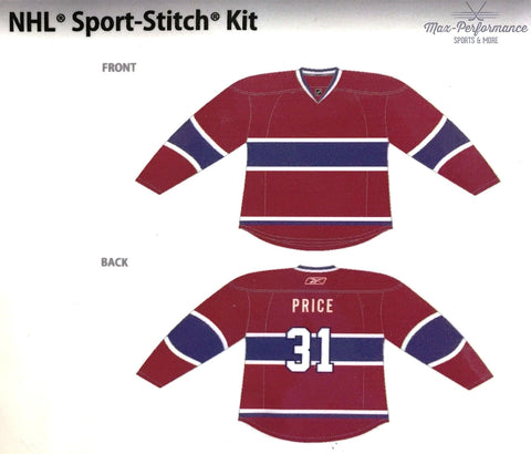 Price NHL Jersey Sport-Stitch Customization Kit
