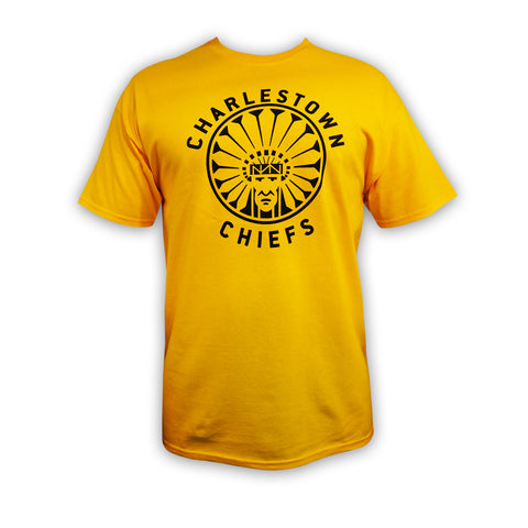 charlestown-chiefs-yellow-slapshot-tshirt