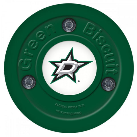 dallas-stars-green-biscuit-puck