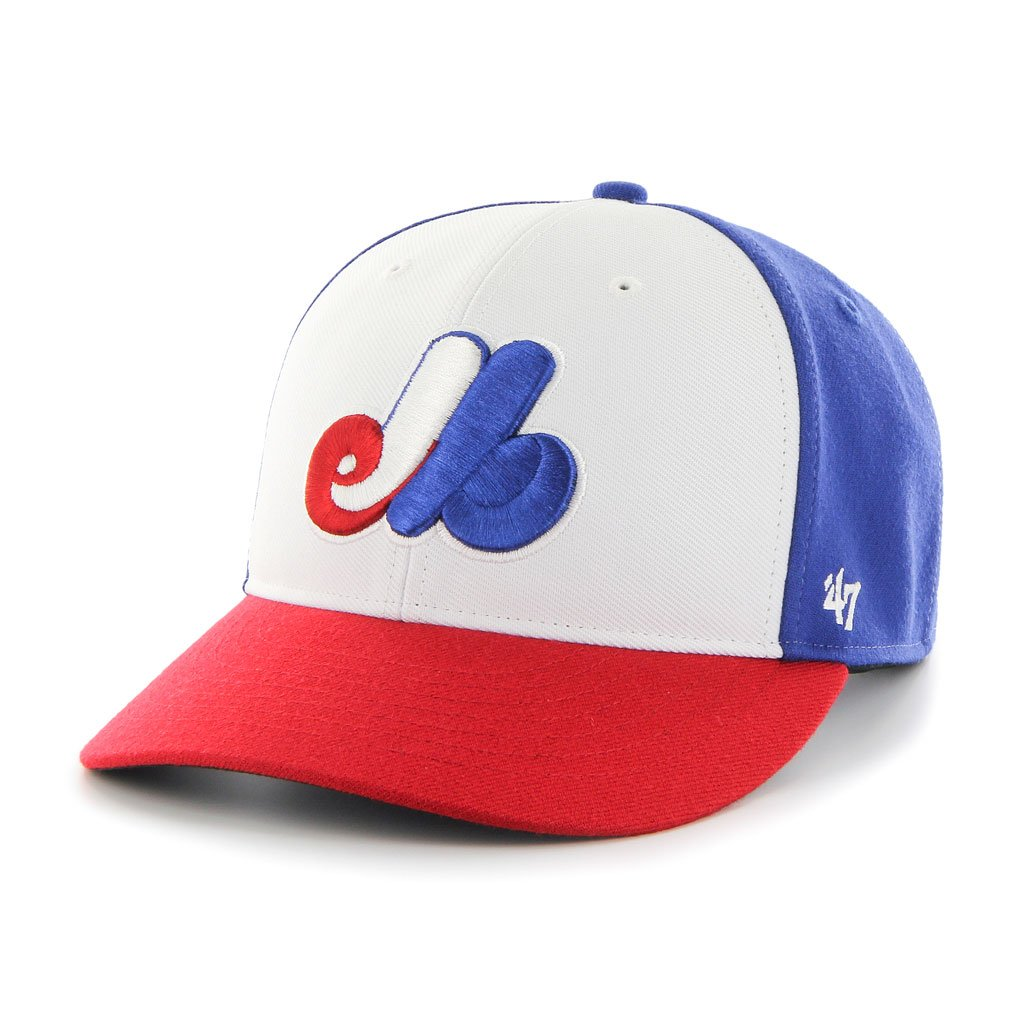 a58f93bc24e3c 47 Brand Montreal Expos MLB Bullpen Hat – Max-Performance Sports   More