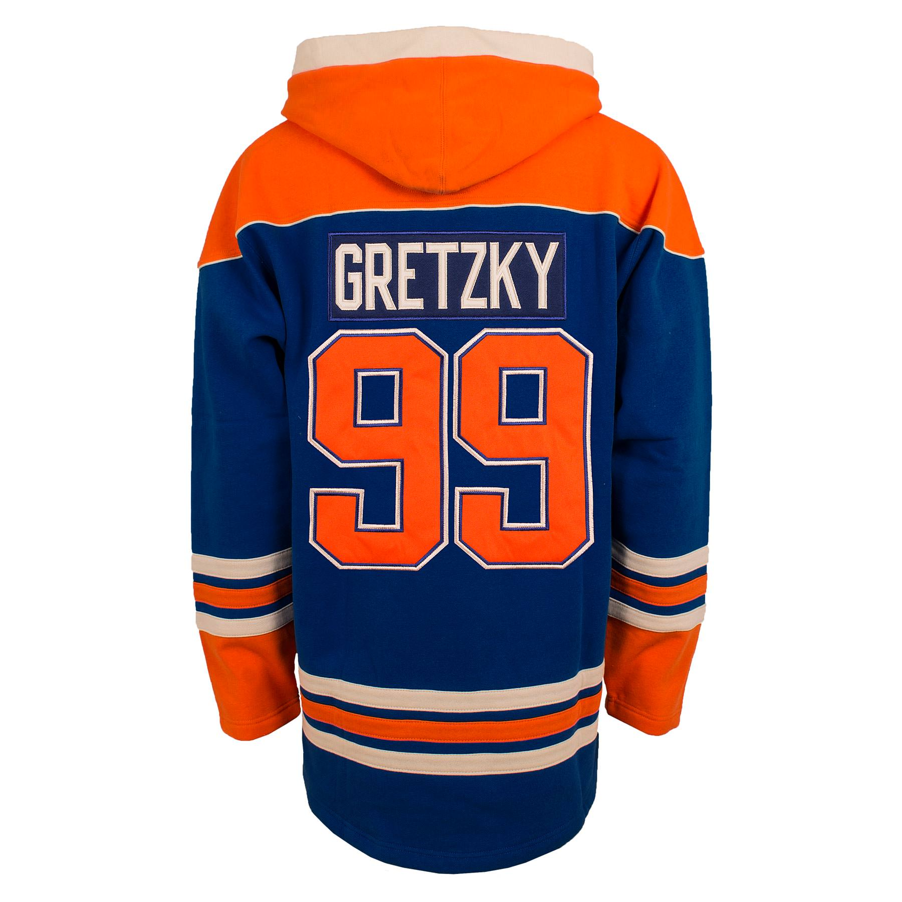 Wayne Gretzky Edmonton Oilers Lacer Jersey Hoodie – Max-Performance ... 5f77d19c9c0