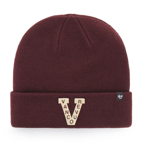 47 Brand Vancouver Millionaires Raised Cuff Knit Toque
