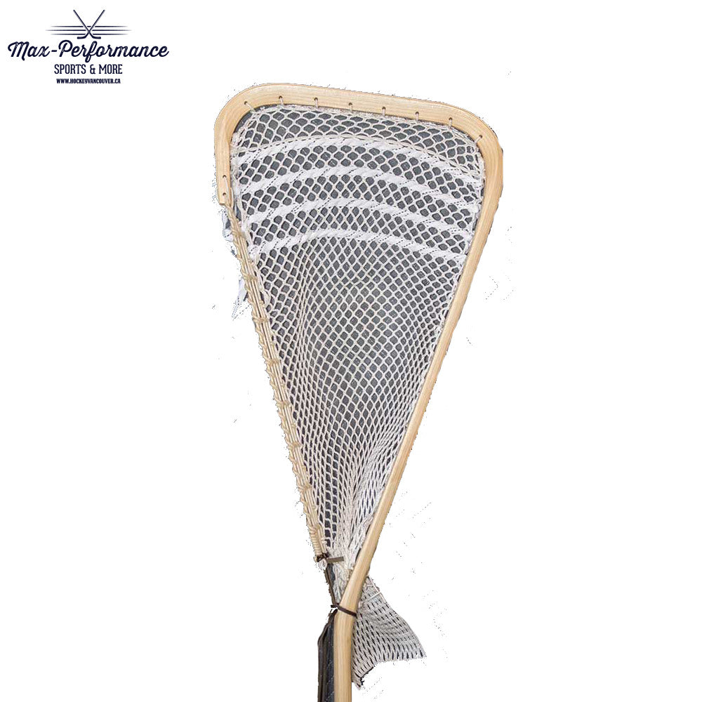 Mohawk Lacrosse Traditional Wooden Box Goalie Stick With Mesh Max
