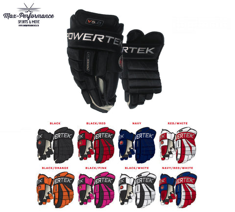 Powertek V5.0 Hockey Gloves - Junior