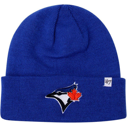 47 Brand Toronto Blue Jays Raised Cuff Knit Toque