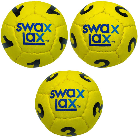 swax-lax-goalie-training-balls-three-pack-yellow