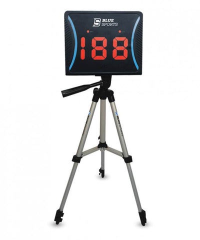 blue-sports-hockey-radar-gun-tripod