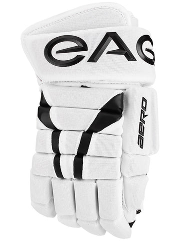 Eagle Aero White Hockey Gloves - Senior