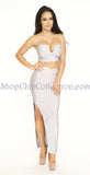 Cameron Bandage Two Piece Set -bandage