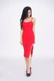 Taryn Slit Midi Dress -dresses