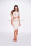 Scarlett Two Piece Bandage Dress -bandage