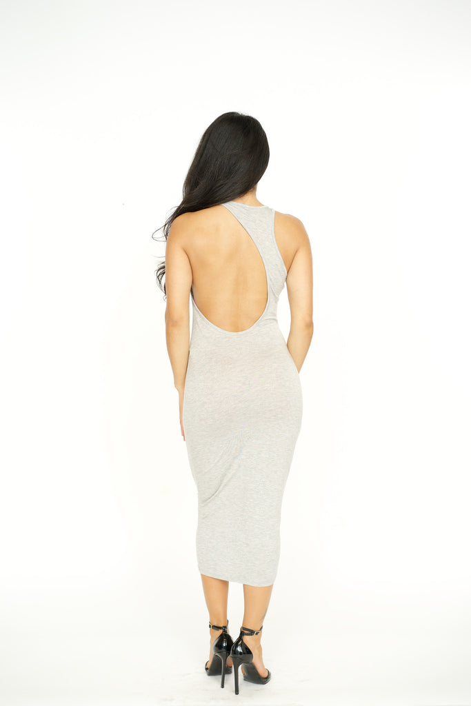 Perfect Open Back Bodycon Dress -dresses