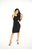 Crossroad Bodycon Dress -dresses