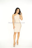 Alisha One Shoulder Bandage Dress -bandage