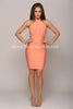 MISHA BANDAGE DRESS -Bandage