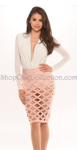 Emma two piece bandage dress