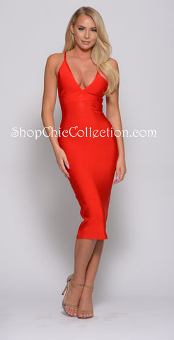Kelsey Bandage dress