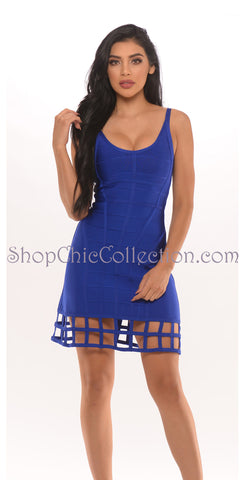 Toxic Two Piece Bandage Dress