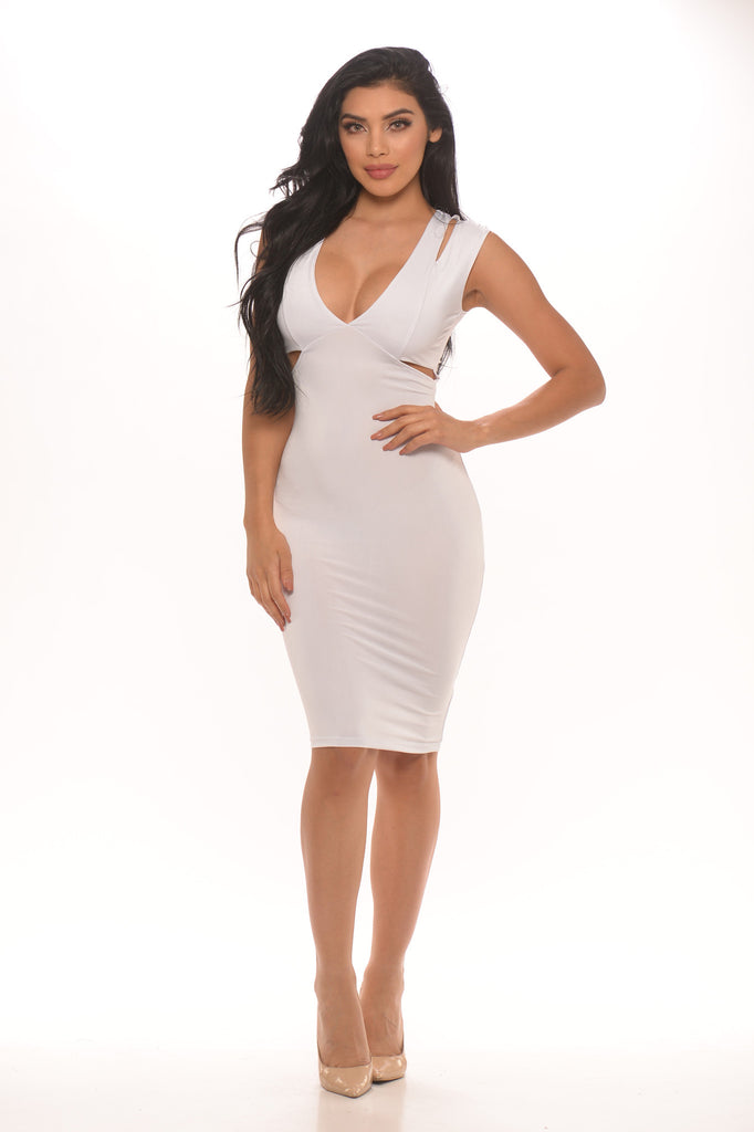 Courtney Cutout Bodycon Dress -Dresses