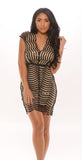 Stop and Stare Sequin Mini Dress -dresses