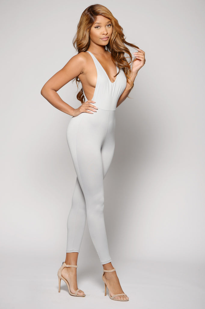 OPEN SIDE JUMPSUIT -jumpsuits