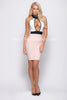 LILA BANDAGE DRESS -Bandage