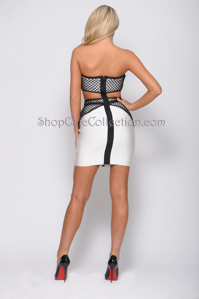 FREYA BANDAGE DRESS -Bandage
