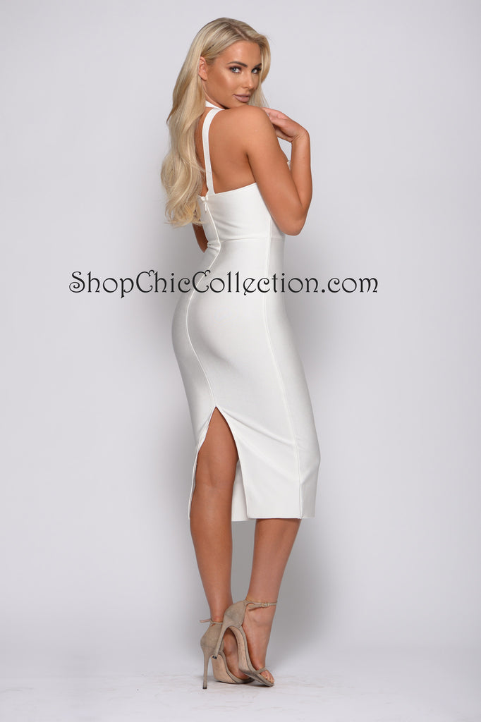 DEMI BANDAGE DRESS
