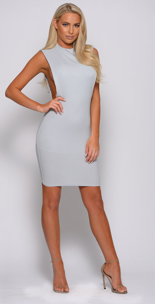 SIDE REVEAL MINI DRESS