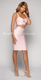 GIGI TWO PIECE BANDAGE DRESS -Bandage