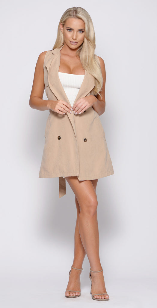 CHASER TRENCH VEST -outerwear
